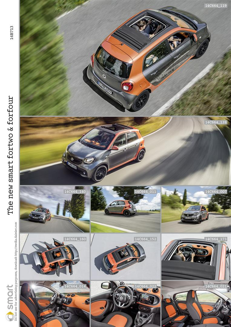 2015 Smart Fortwo and Forfour Bring New Dual-Clutch Automatic + 2 and 4-Door Options 5