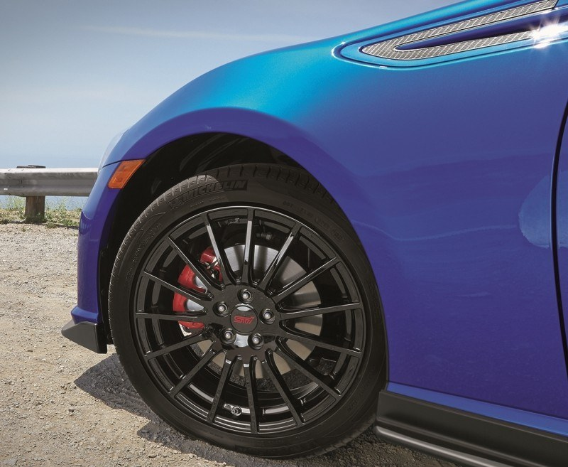 2015 Subaru BRZ Brings Detail Tweaks and STI Goodies Via Series.Blue Limited-Edition 2
