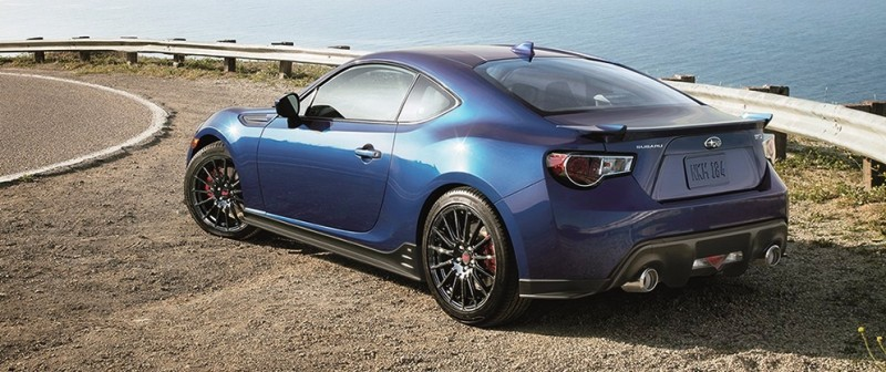 2015 Subaru BRZ Brings Detail Tweaks and STI Goodies Via Series.Blue Limited-Edition 22