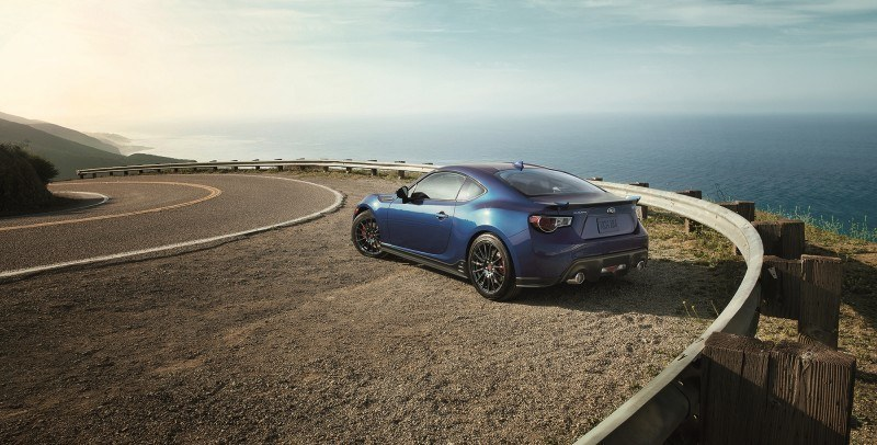 2015 Subaru BRZ Brings Detail Tweaks and STI Goodies Via Series.Blue Limited-Edition 23
