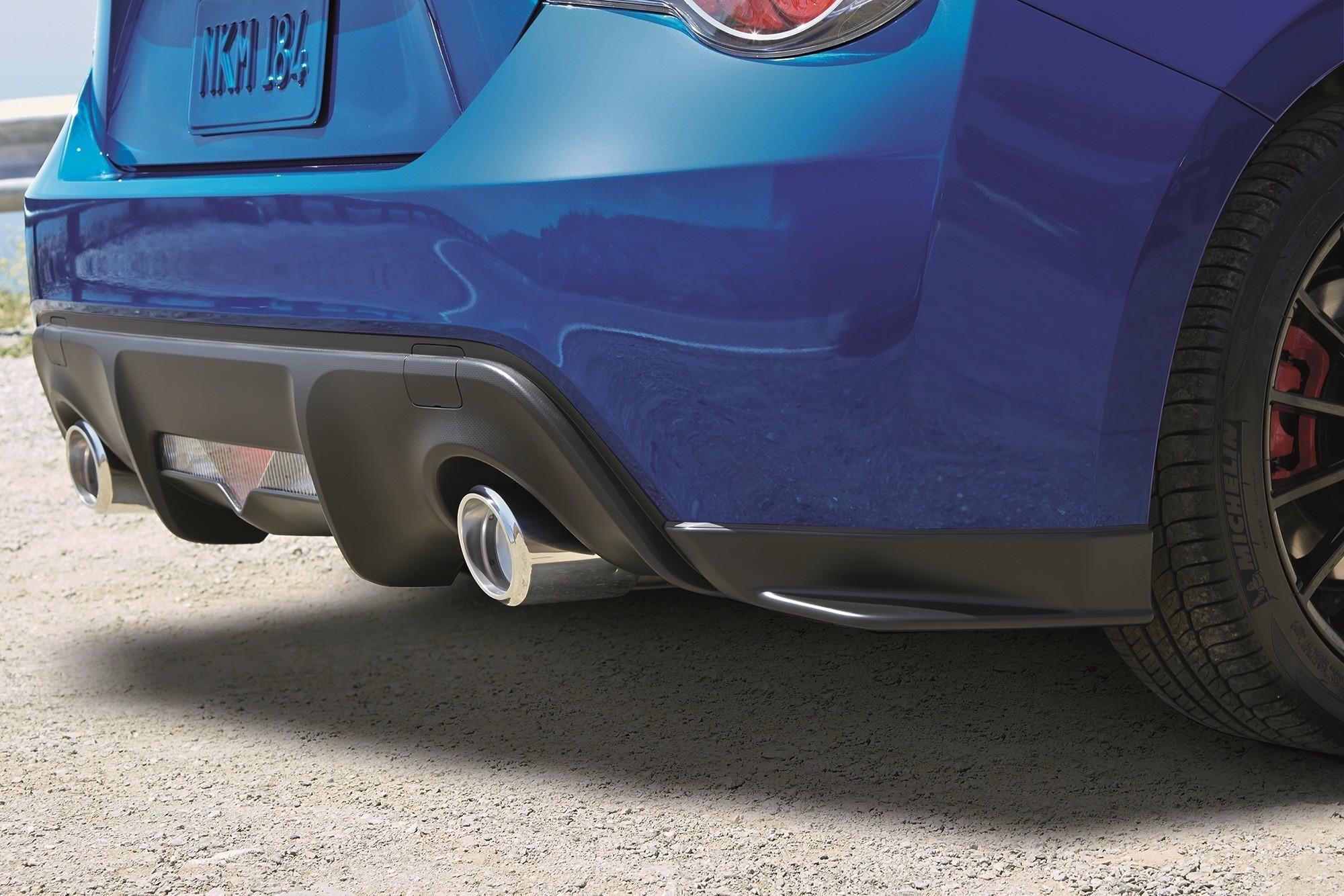2015 Subaru Brz Series Blue Brings Sti Goodies