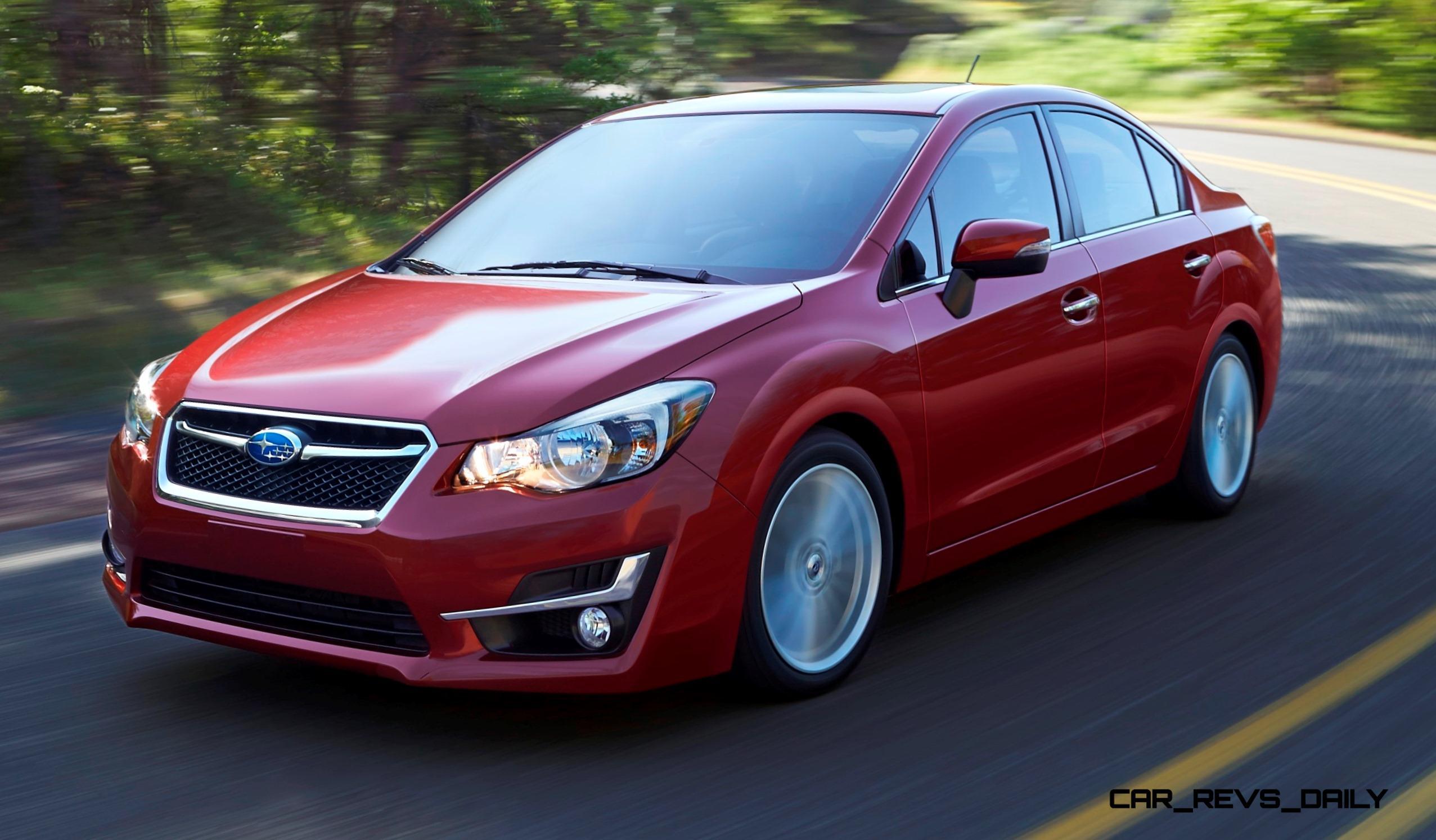2015 Subaru Impreza Brings Fresh Nose Design New Lighting And Refined Interior Details Car Revs Daily Com