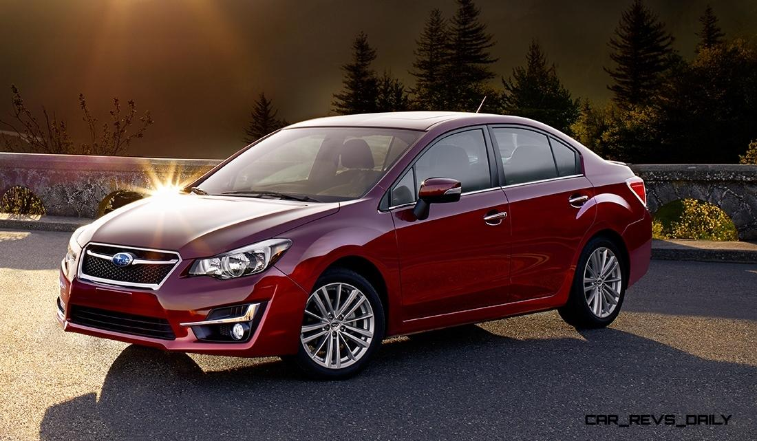 2015 Subaru Impreza Brings Fresh Nose Design, New Lighting and Refined Interior Details 8