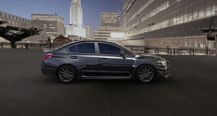 2015 Subaru WRX Dark Grey Metallic Spinner GIF
