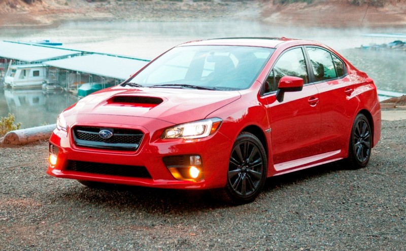 2015 Subaru WRX Hits The Gravel In 90 New Photos in Four Colors 11