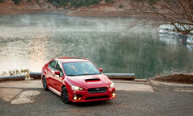 2015 Subaru WRX Hits The Gravel In 90 New Photos in Four Colors 12