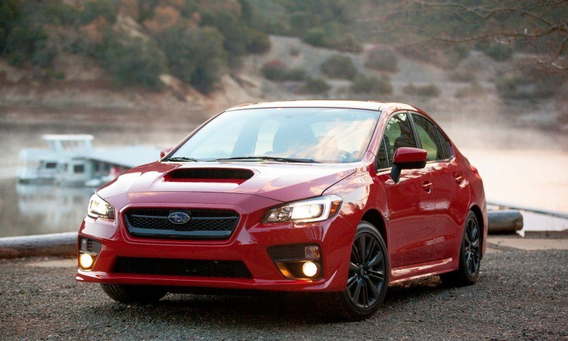 2015 Subaru WRX Hits The Gravel In 90 New Photos in Four Colors 15