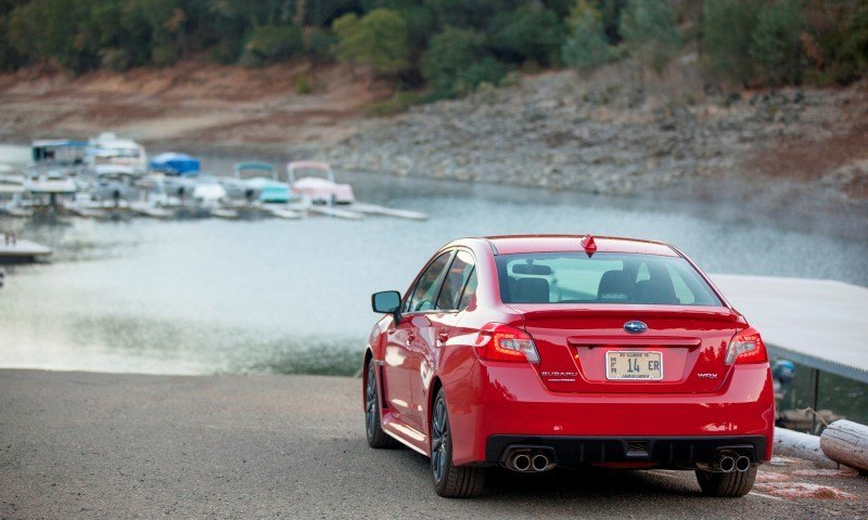2015 Subaru WRX Hits The Gravel In 90 New Photos in Four Colors 16