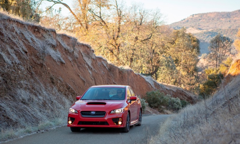 2015 Subaru WRX Hits The Gravel In 90 New Photos in Four Colors 24