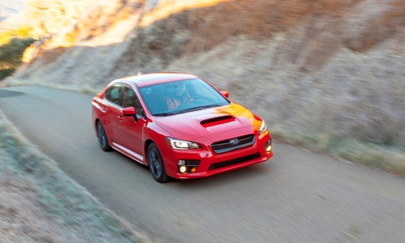 2015 Subaru WRX Hits The Gravel In 90 New Photos in Four Colors 25