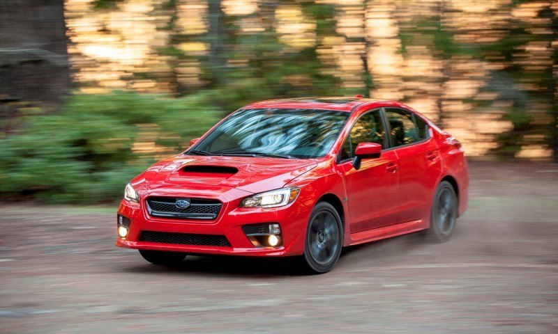 2015 Subaru WRX Hits The Gravel In 90 New Photos in Four Colors 28