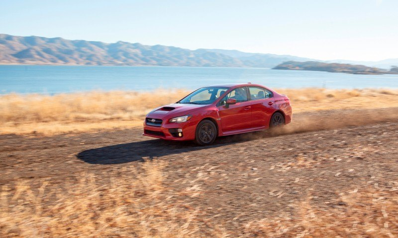 2015 Subaru WRX Hits The Gravel In 90 New Photos in Four Colors 31