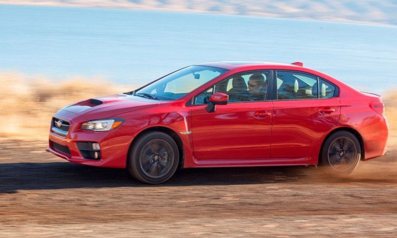 2015 Subaru WRX Hits The Gravel In 90 New Photos in Four Colors 32