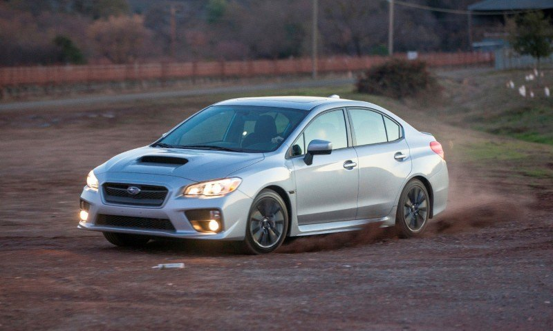 2015 Subaru WRX Hits The Gravel In 90 New Photos in Four Colors 38