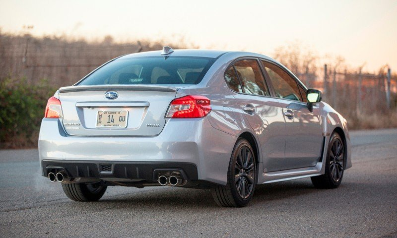 2015 Subaru WRX Hits The Gravel In 90 New Photos in Four Colors 8
