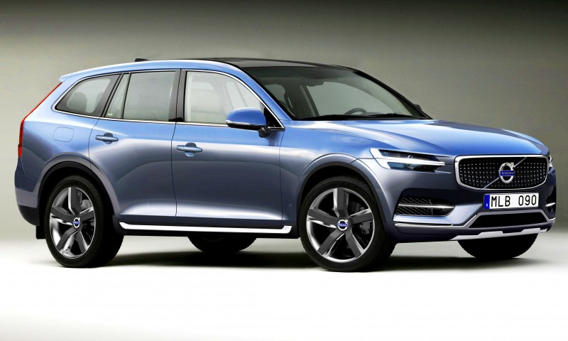 2015 VOLVO XC90 Powertrain Teaser - Twin-Engine PHEV with 400HP Dubbed T8, 316HP T6 Also Coming to USA 7