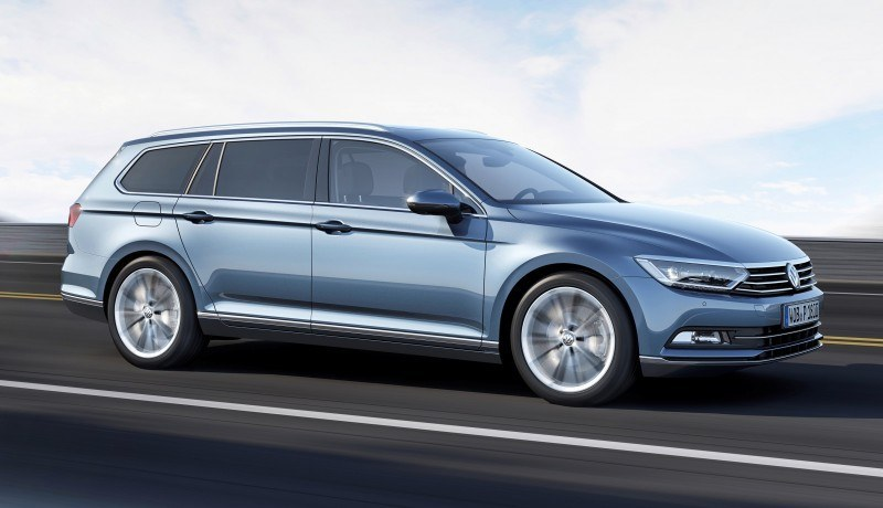 2015 Volkswagen Passat Debuts Fresh European-Model-Only Redesign 12