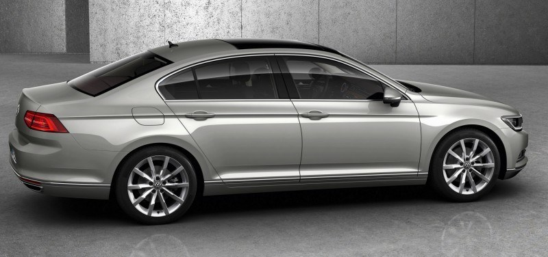 2015 Volkswagen Passat Debuts Fresh European-Model-Only Redesign 19