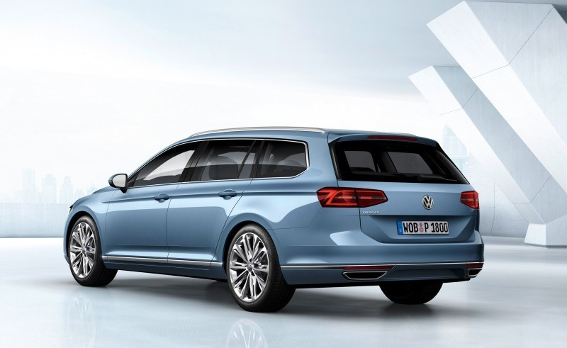 2015 Volkswagen Passat Debuts Fresh European-Model-Only Redesign 2