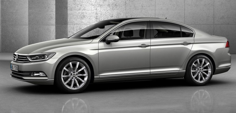 2015 Volkswagen Passat Debuts Fresh European-Model-Only Redesign 20