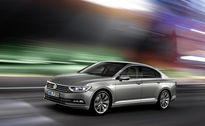 2015 Volkswagen Passat Debuts Fresh European-Model-Only