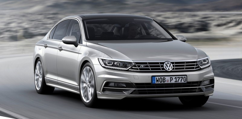 2015 Volkswagen Passat Debuts Fresh European-Model-Only Redesign 30