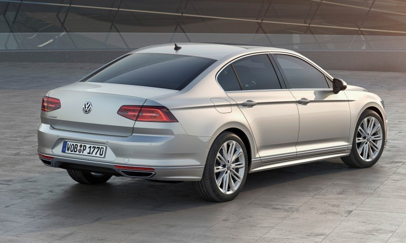 2015 Volkswagen Passat Debuts Fresh European-Model-Only Redesign 31
