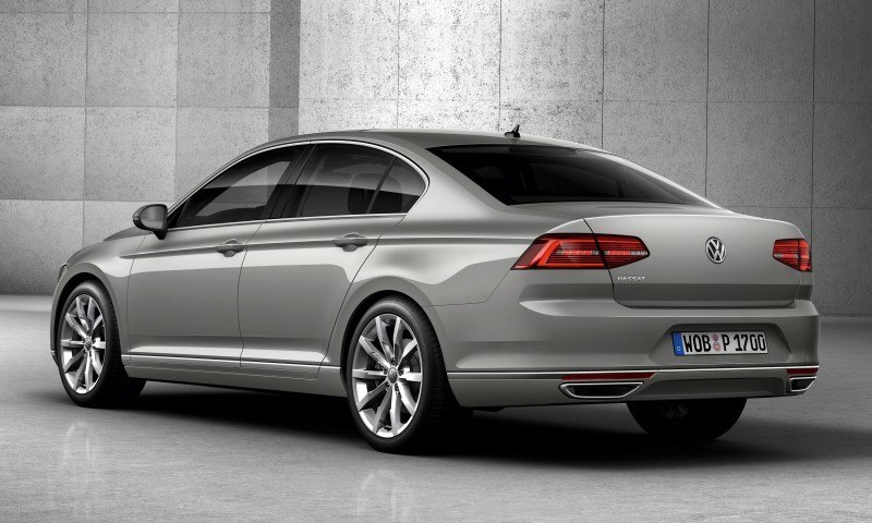 2015 Volkswagen Passat Debuts Fresh European-Model-Only Redesign 32