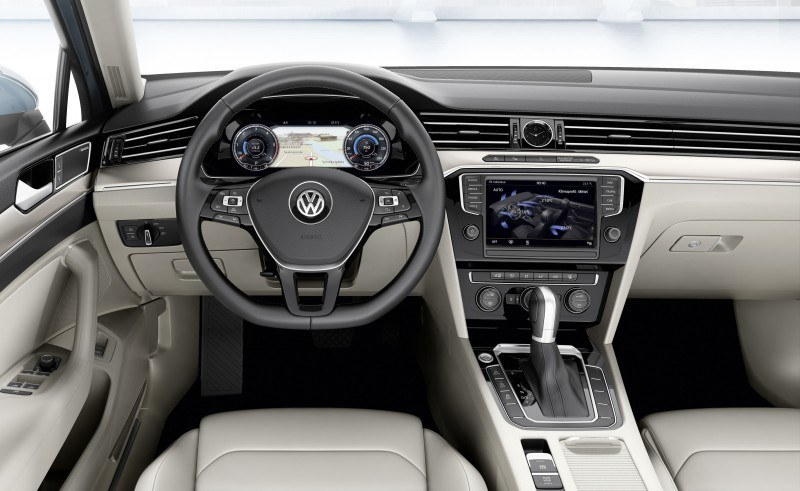 2015 Volkswagen Passat Debuts Fresh European-Model-Only Redesign 33