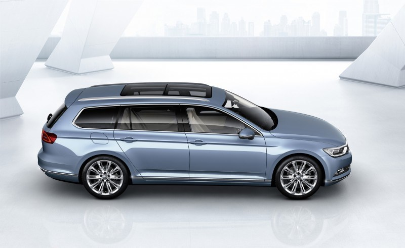 2015 Volkswagen Passat Debuts Fresh European-Model-Only Redesign 4