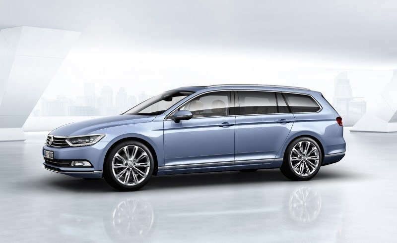 2015 Volkswagen Passat Debuts Fresh European-Model-Only Redesign 6