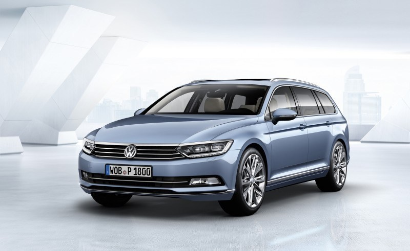 2015 Volkswagen Passat Debuts Fresh European-Model-Only Redesign 8