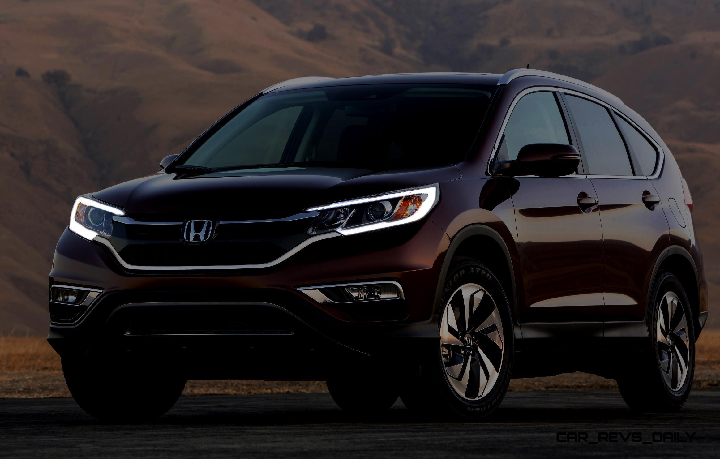 2015 Honda CR-V Refreshed Inside and Out - On Sale October 1st