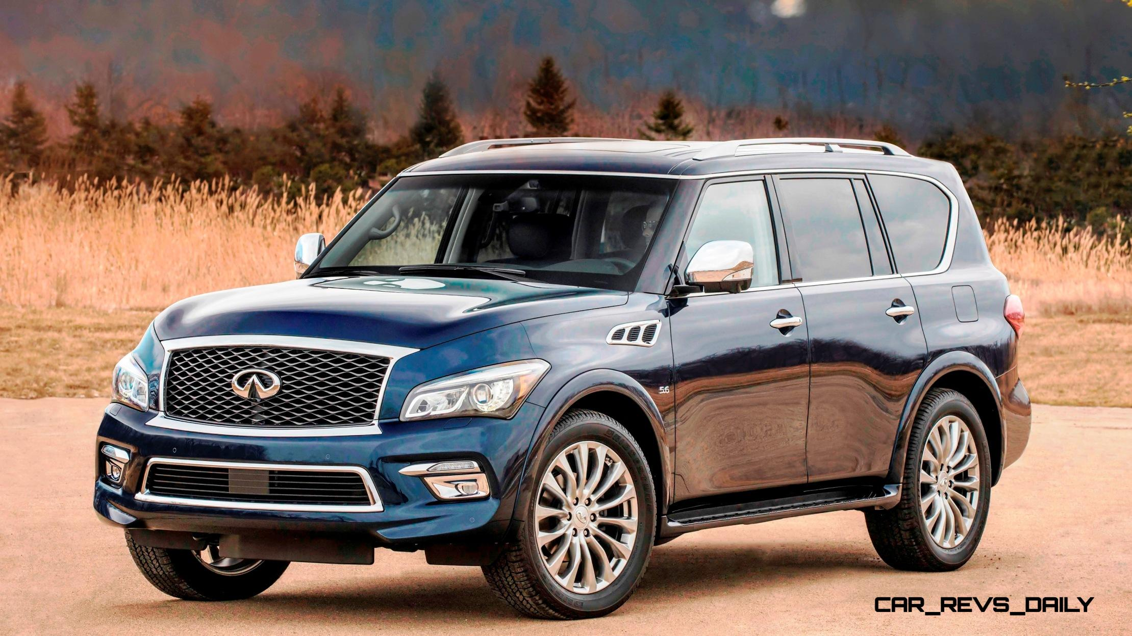 2015 INFINITI QX80 Pebble Beach Photos + Specs, Options ...