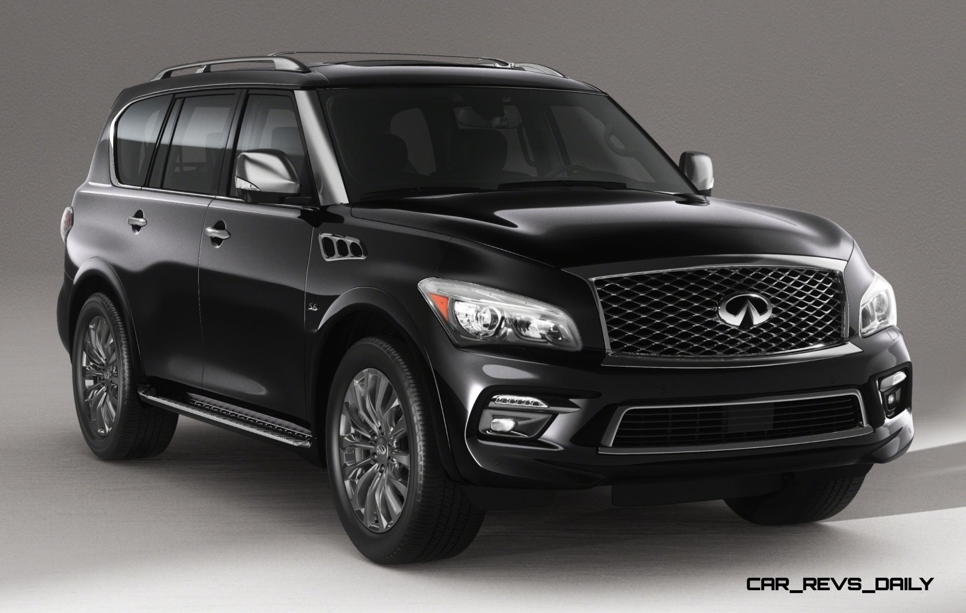 2015 infiniti qx80 limited is red carpet glamour with genius iq 150 photo debut. Black Bedroom Furniture Sets. Home Design Ideas