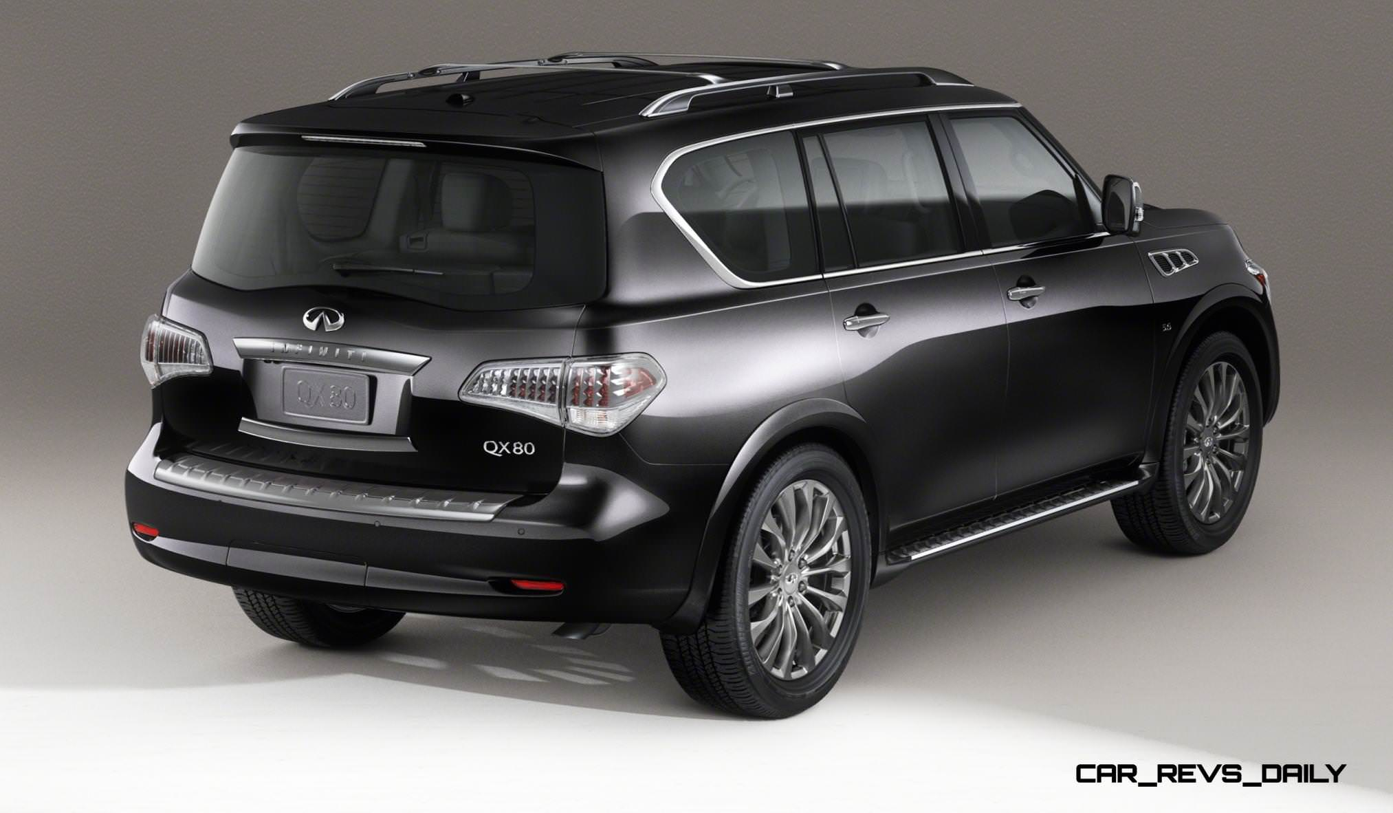 2015 INFINITI QX80 Limited Is Red-Carpet Glamour With