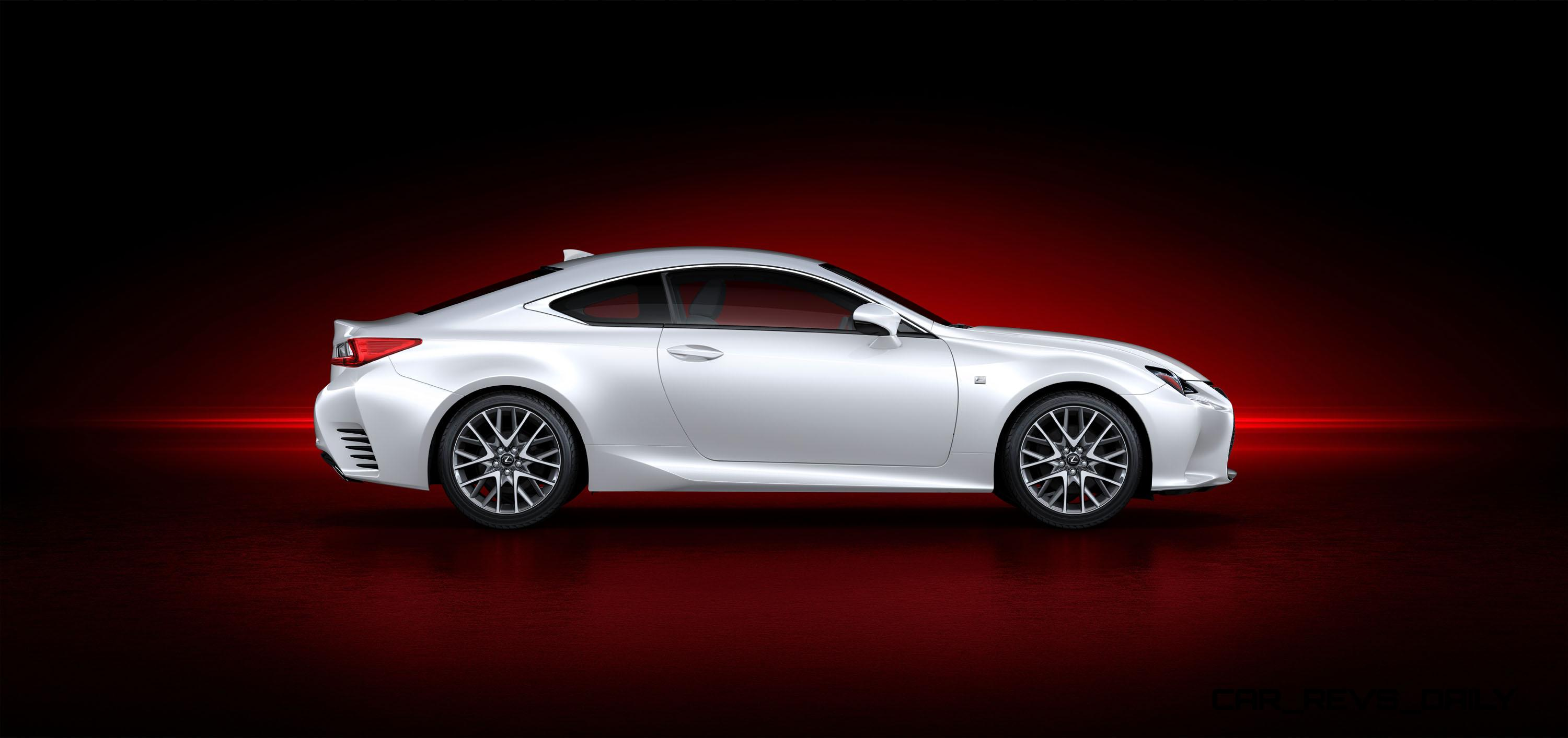 2015 lexus rc350 f sport exclusive 8 speed auto awd 4ws. Black Bedroom Furniture Sets. Home Design Ideas