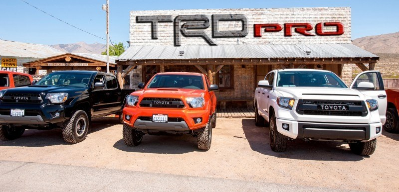 Updated with Pricing  Equipment Specs  2015 Toyota TRD PRO