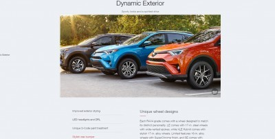 2016 Toyota RAV4 SE Launches Silver-Accented Style, New RALLY RACECAR! 2016 Toyota RAV4 SE Launches Silver-Accented Style, New RALLY RACECAR! 2016 Toyota RAV4 SE Launches Silver-Accented Style, New RALLY RACECAR!