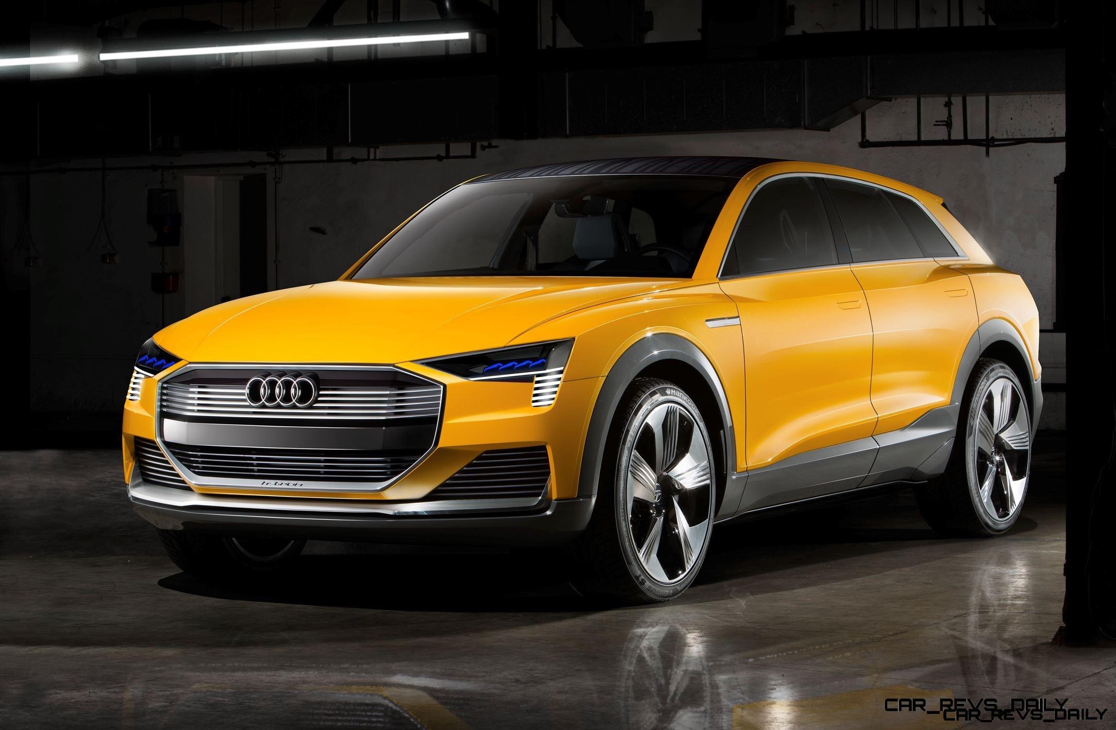 2016 Audi h-Tron Quattro Concept – Hypercomplex Tech Showcase Headed for Sale as $100k Tesla Rival as 2018 Q6