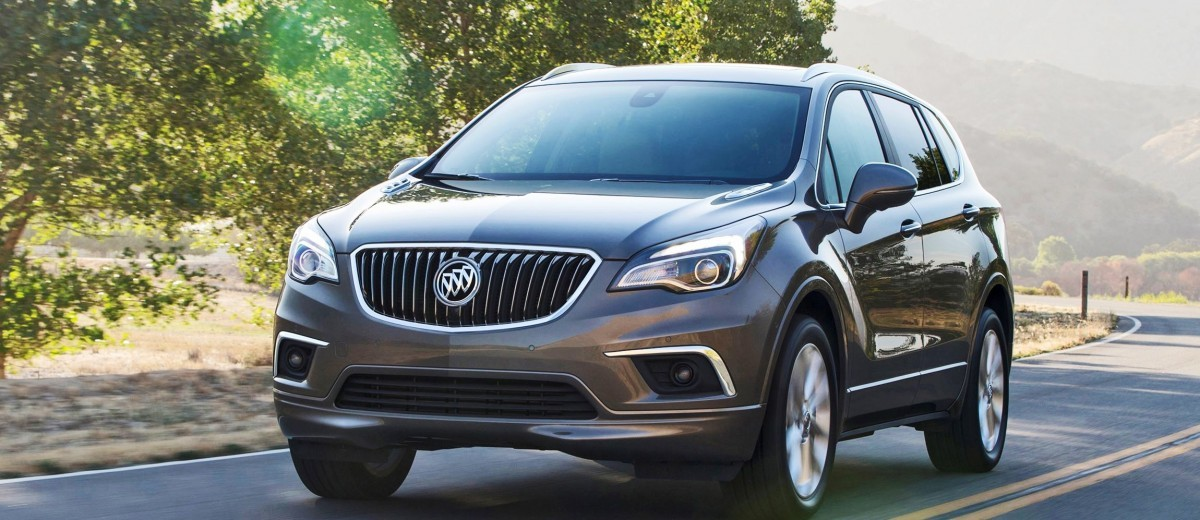 2016 Buick ENVISION Is New 5-Seat Crossover - Standard ...