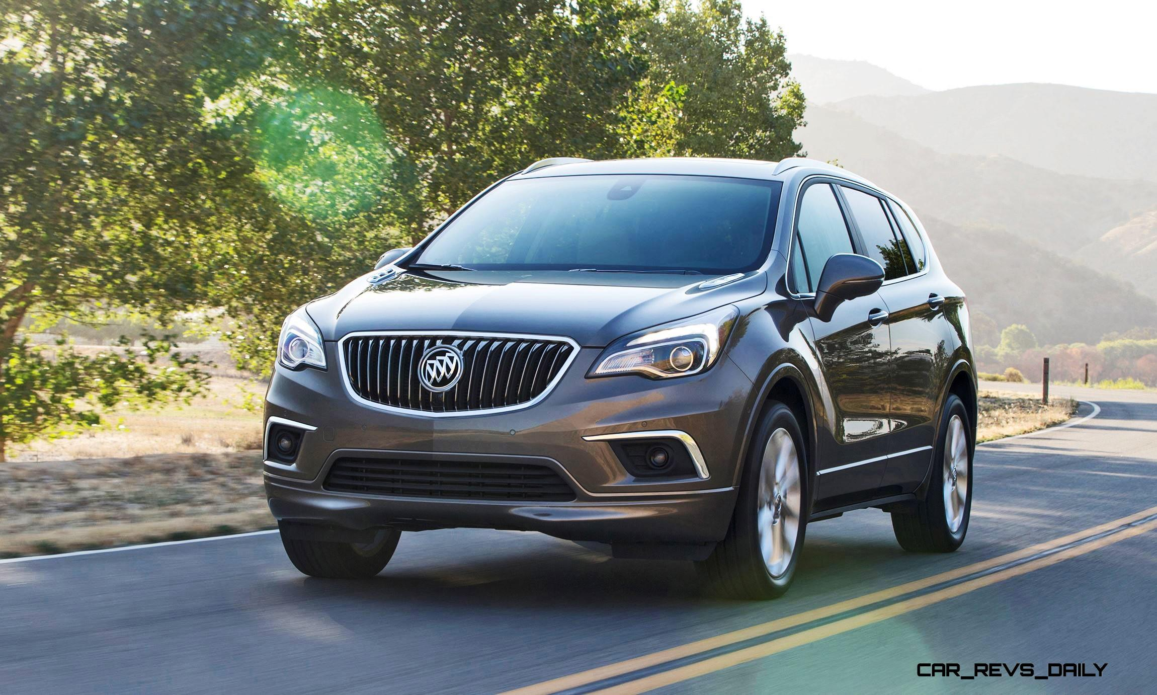 2016 buick envision is new 5 seat crossover standard turbo to rival audi q5 arrives in april. Black Bedroom Furniture Sets. Home Design Ideas