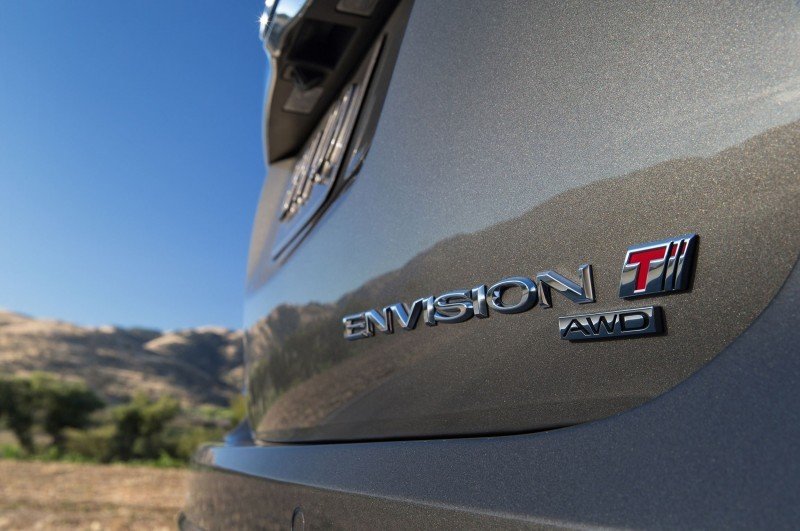 2016 Buick Envision Turbo Badge