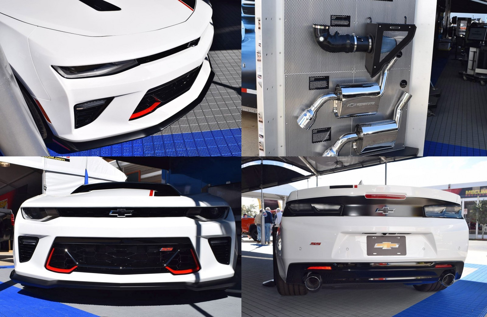 2016 camaro by chevrolet performance brembos springs cold air intake sport exhausts. Black Bedroom Furniture Sets. Home Design Ideas