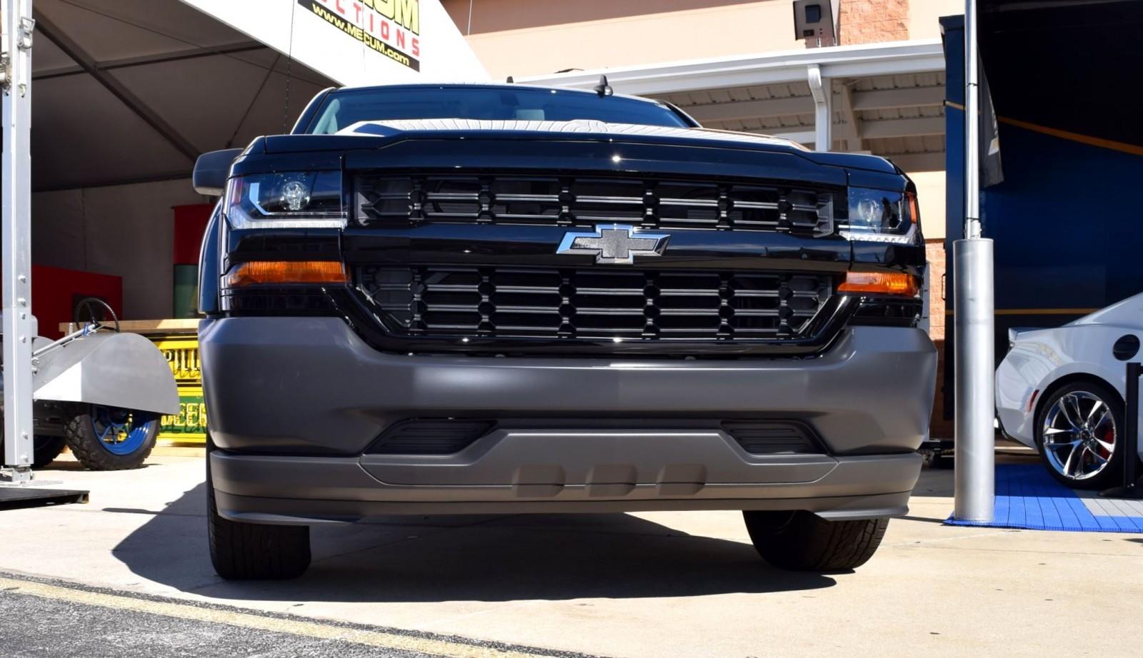 Chevy Silverado Special Edition Trucks at Spitzer ...  Silverado Black Edition