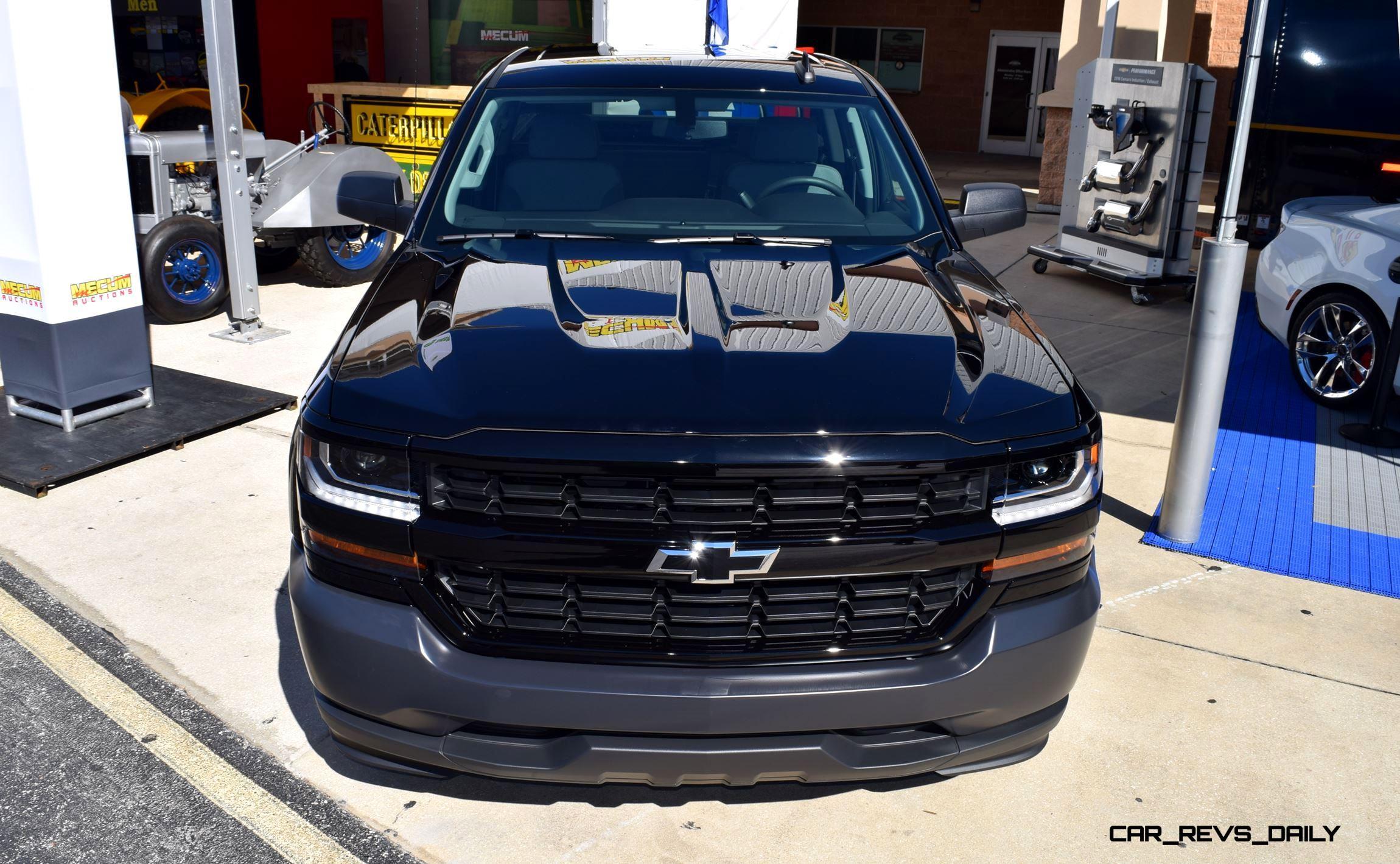 2016 Chevrolet Silverado Black