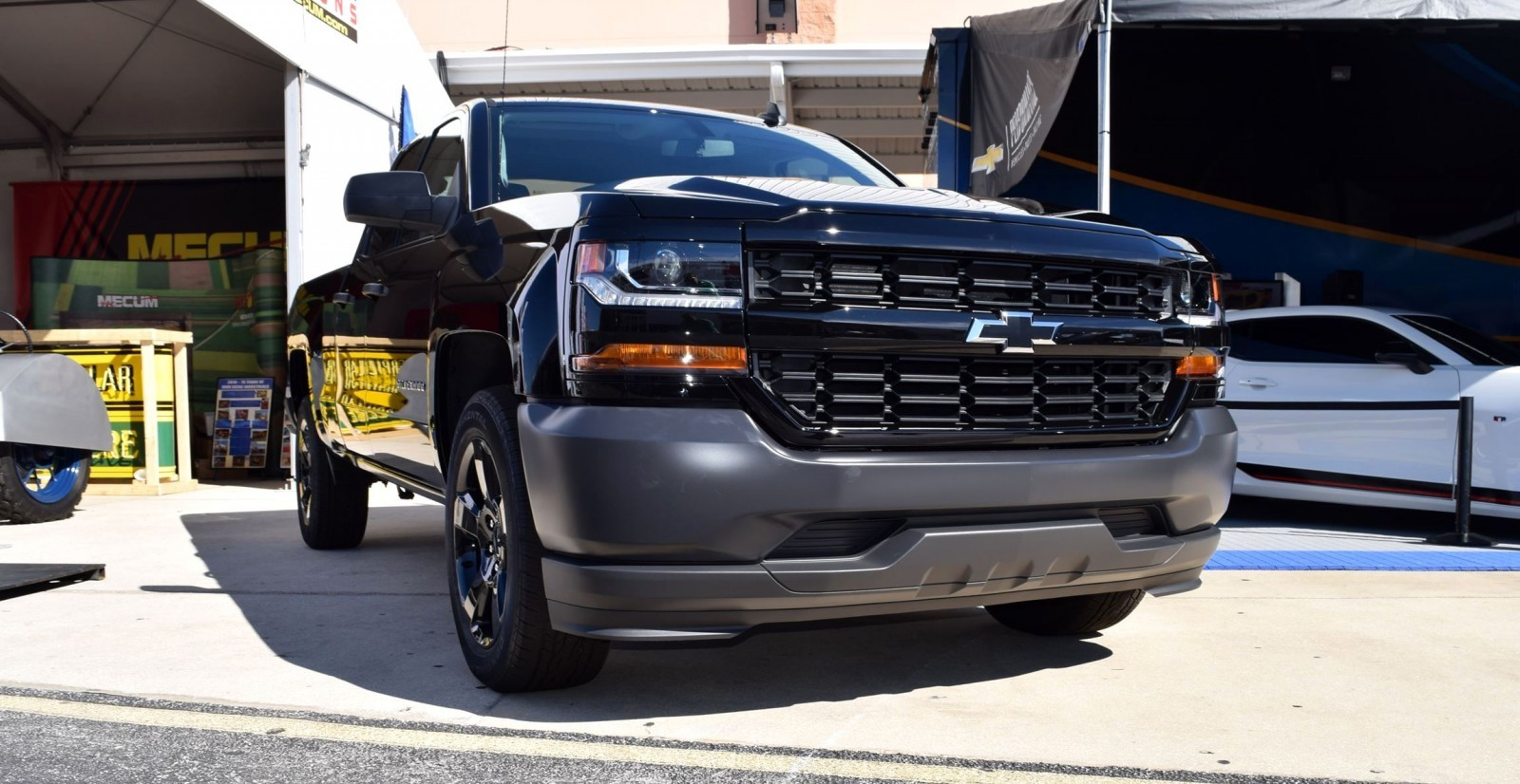 Chevy Silverado Rally Edition >> 2016 Chevrolet SILVERADO Black Out Edition is $35k and Dripping Wet Gloss!