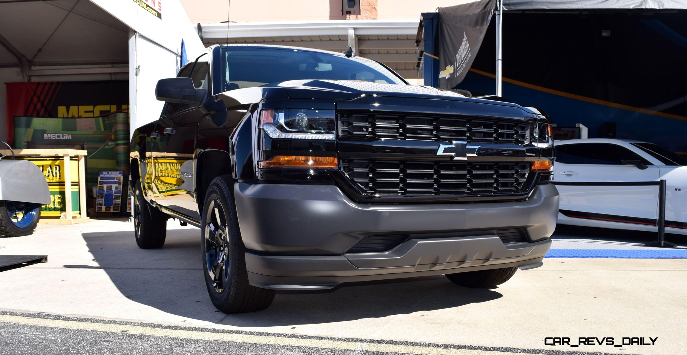 Blacked Out Silverado >> 2016 Chevrolet SILVERADO Black Out Edition is $35k and ...
