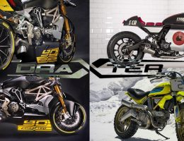 2016 DUCATI Concept Quartet! DRAXTER Racer & ARTIKA Are Dream HyperBikes