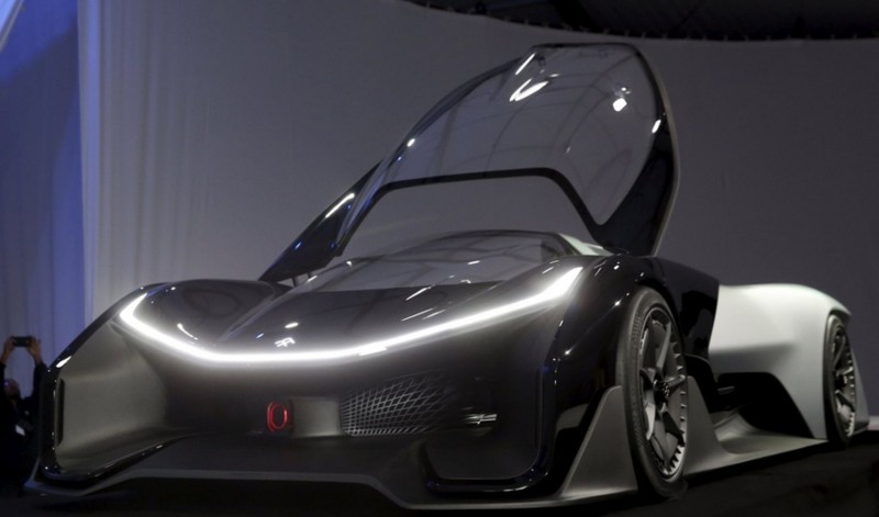 2016 Faraday Future FFZERO1 Concept 10